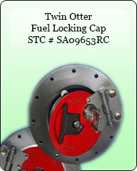Twin Otter Fuel locking Cap